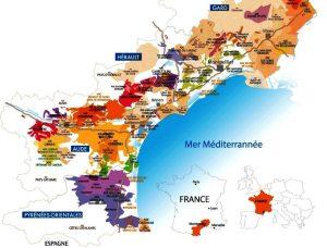 languedoc roussillon wine regions