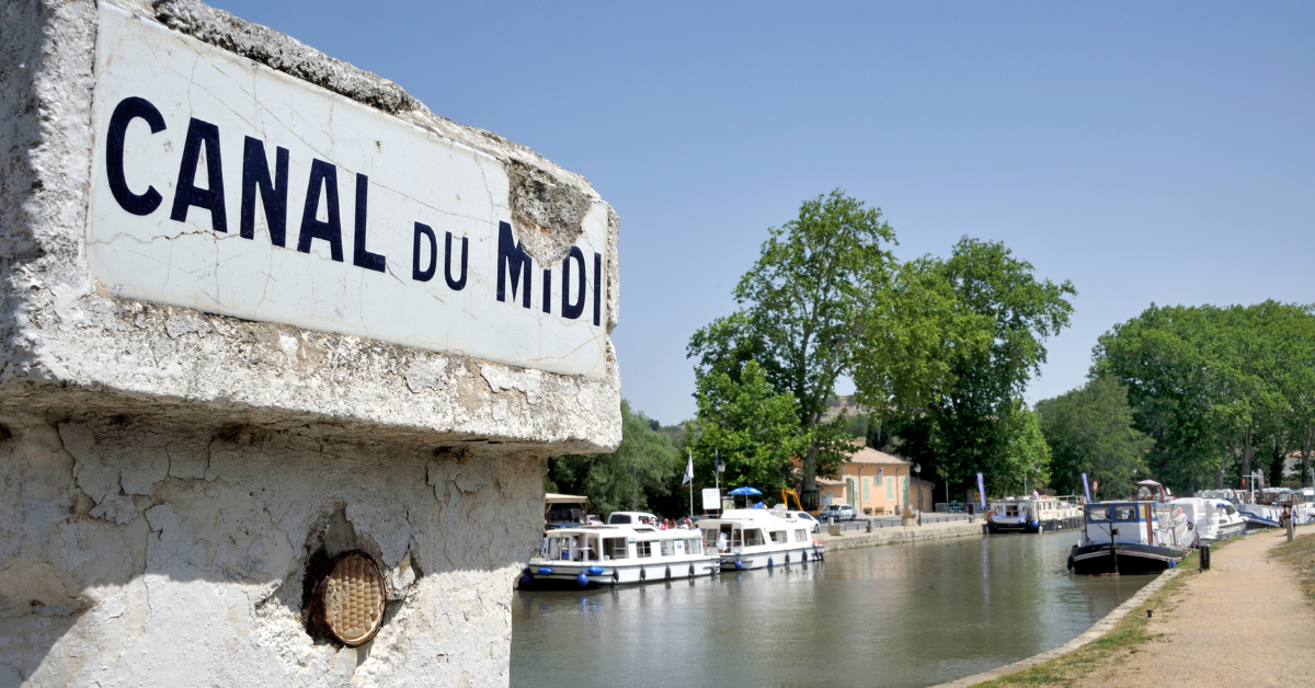 on the canal du midi