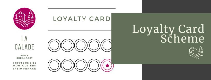 loyalty card scheme